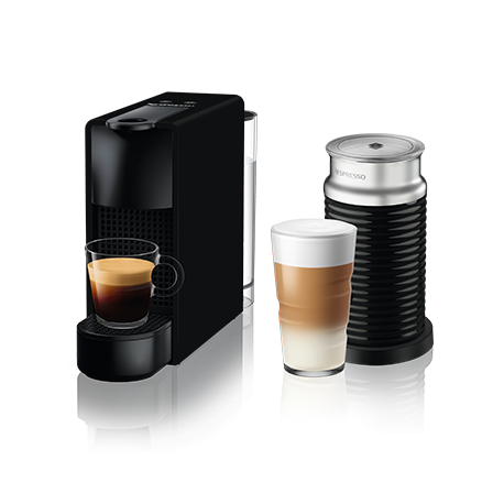Essenza Mini & Aeroccino 3 (Juodi)